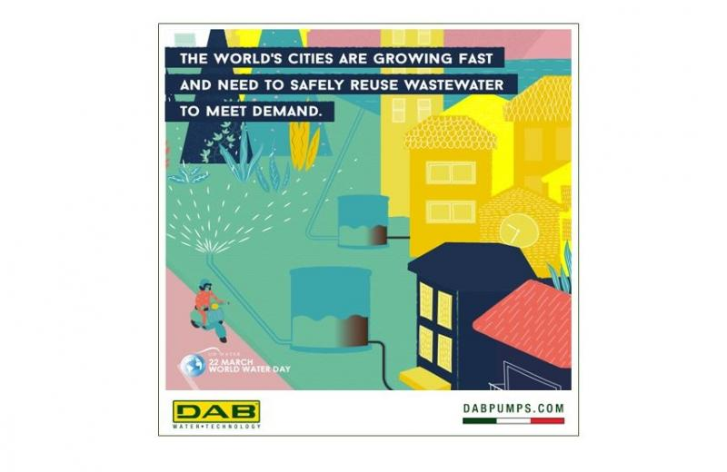 Let's use treated wastewater for industry and agriculture, washing vehicles and irrigating parks!
