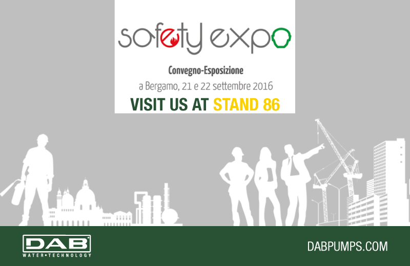 DAB goes to Bergamo for the Safety Expo 2017
