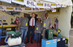 Dab and Biselex together at the ACITF fair in Ethiopia