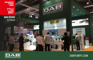 DAB at AQUATECH China 2017