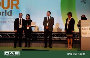 DAB won the Qlik Innovation Award 2017
